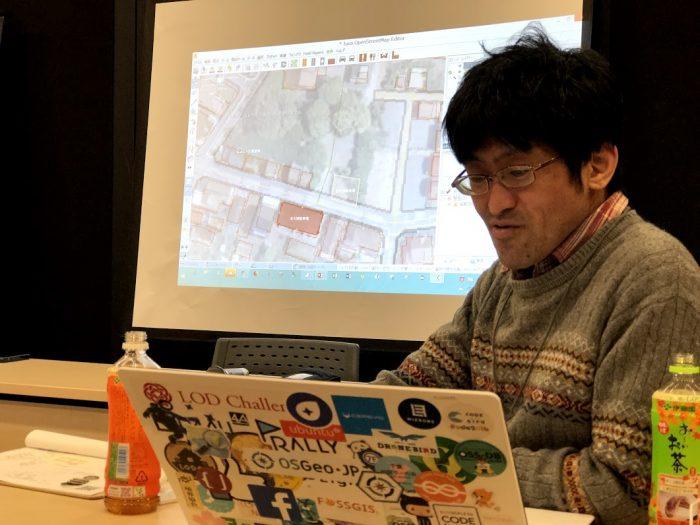 1209地図お絵描き学習会-古田さん-OSM実演