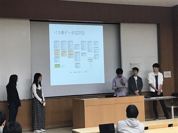 豊橋3大学まちづくりハッカソン_チーム「雨降りバス停」_発表_20181028