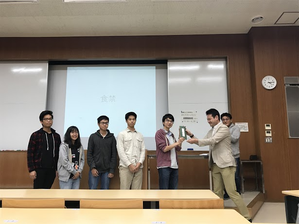 豊橋3大学まちづくりハッカソン_チーム「食禁」_表彰_20181028